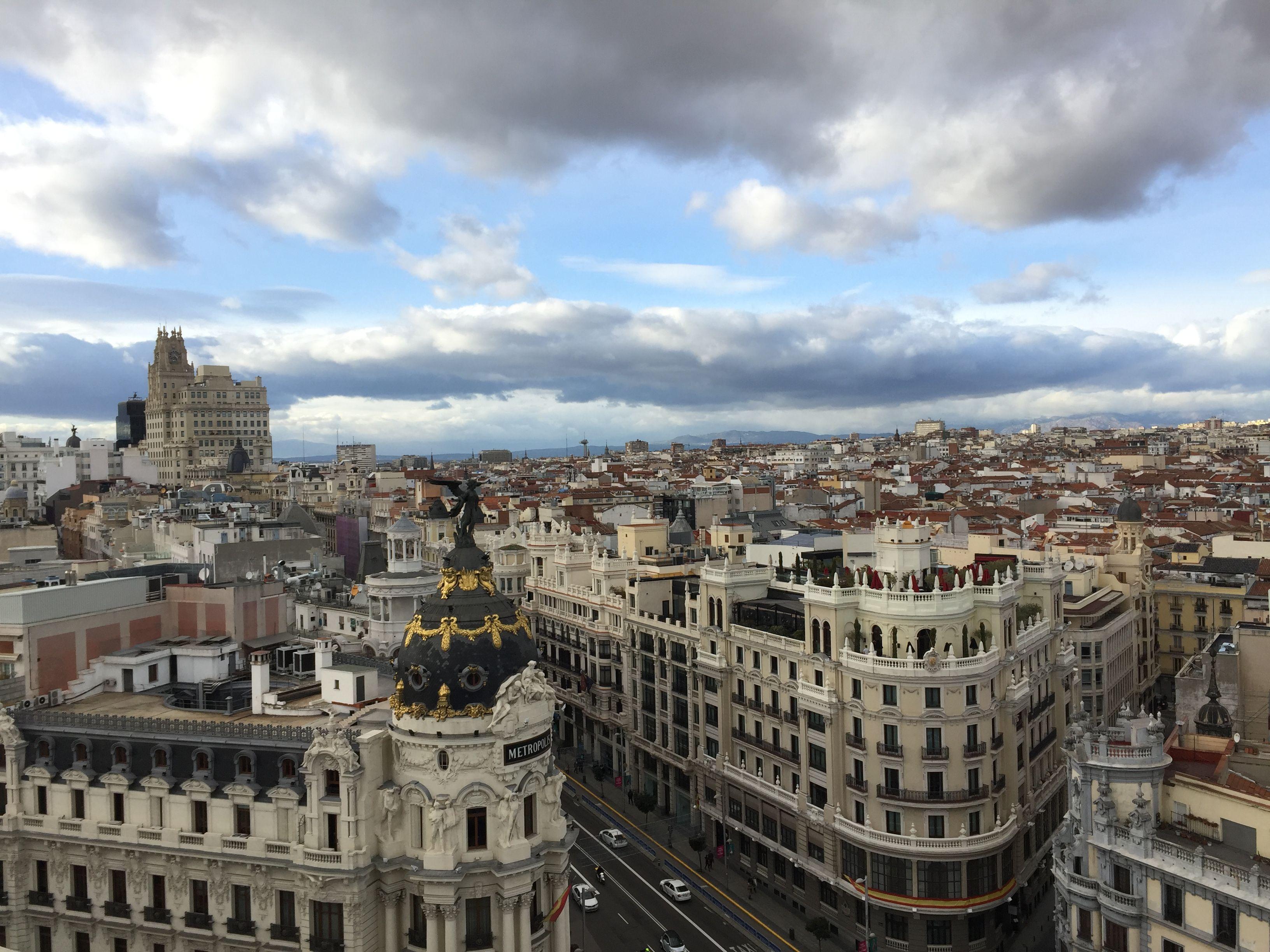 Madrid a vista de pajaro