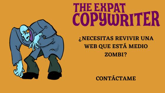Copywriter inglés español contacto