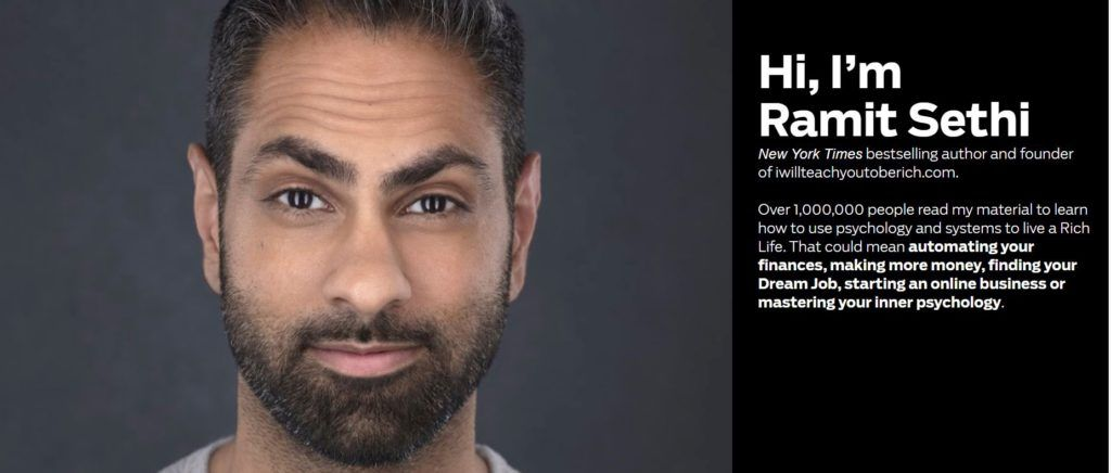 Ramit Sethi and the Rule of One