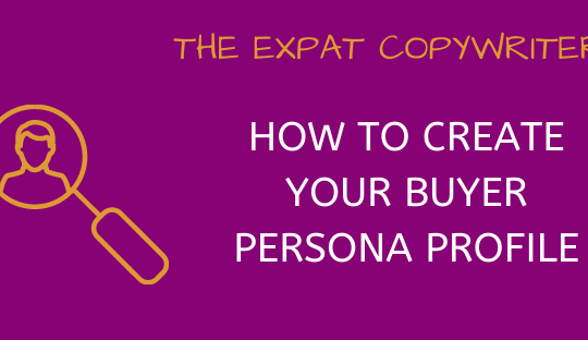 How to create your buyer persona profile