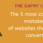 The 5 most common mistakes of websites that don't convert