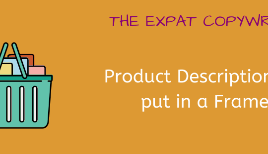 Examples of Product Descriptions