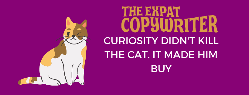 how to increase curiosity in copy
